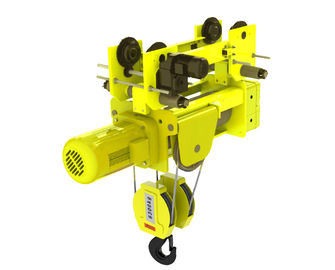 European Design Low Headroom Wire Rope Hoists 4/1 Rope Reeving Of  Four Wire Rope