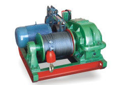 Slow Building Electric Winch With Heavy Duty Low Speed Wire Rope Sling Type